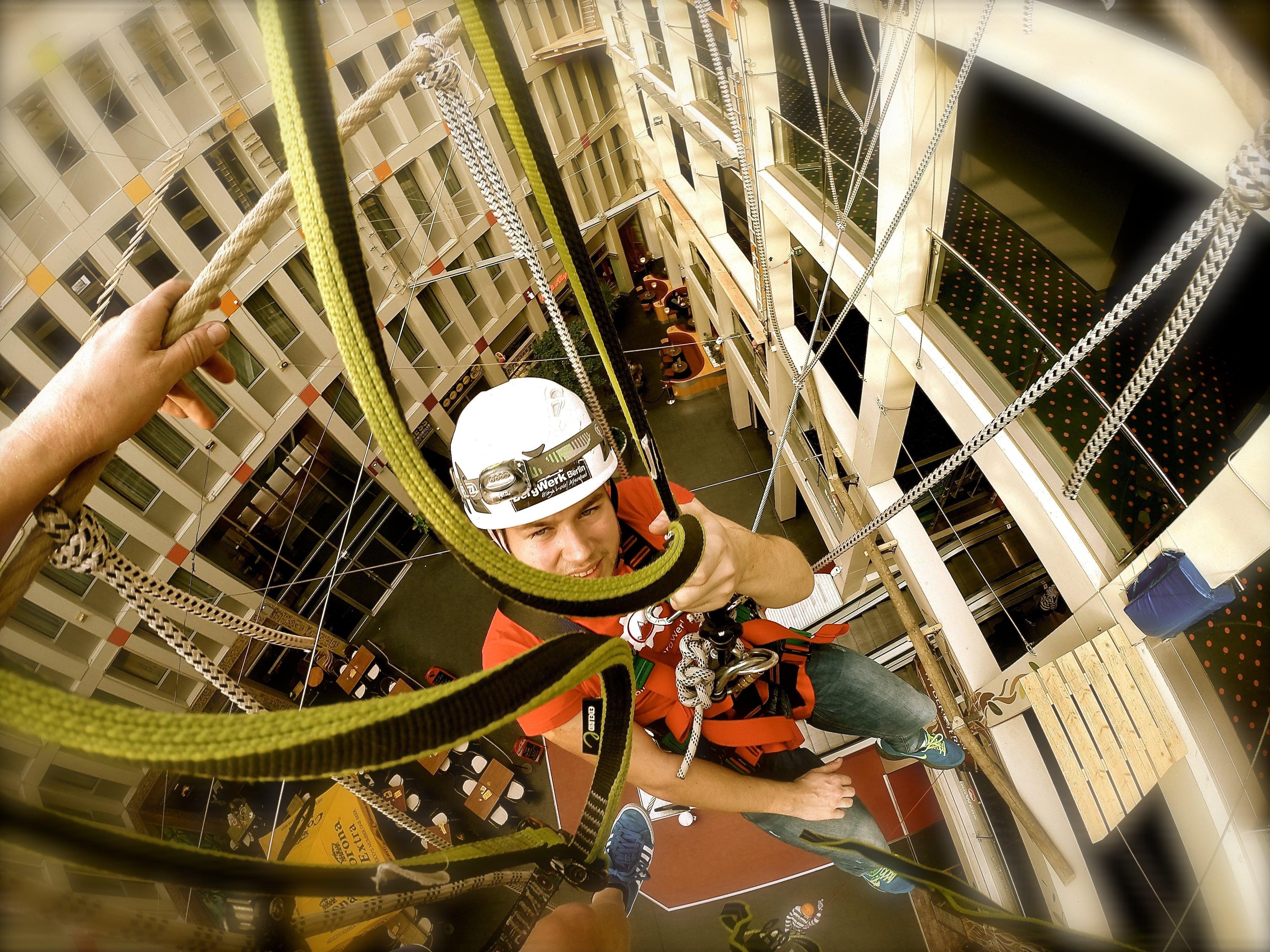 Kultur und Bewegung unter einem Dach - Sören Sydow - Kletterparkmanager in Berlin