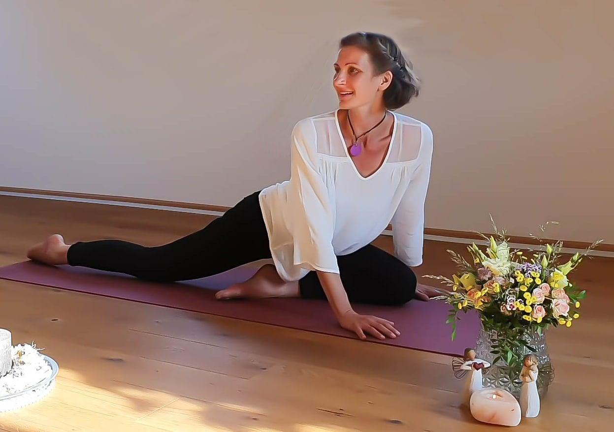 Der Weg zu mehr Ausgeglichenheit und Liebe - Katja Anderssohn - Yogalehrerin in Dresden