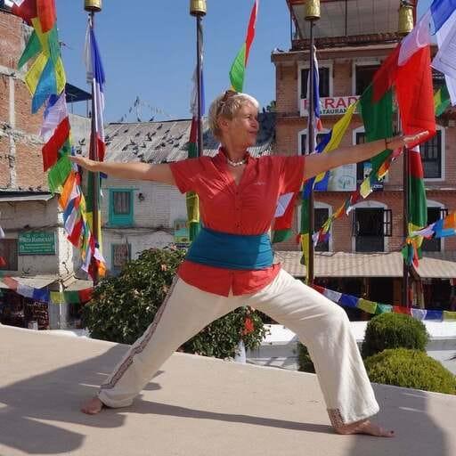 Die Liebe zum Yoga - Minka Hauschild - Yoga-Lehrerin in Düsseldorf