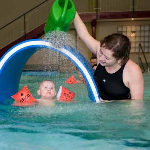 Spaß und gute Laune garantiert - Susann Christoph - Schwimmtrainerin in Freital