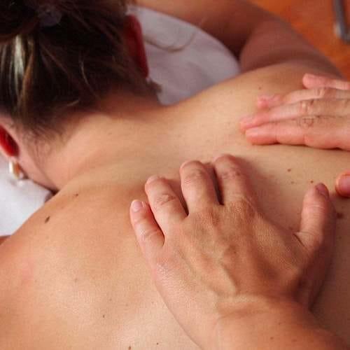 Dekontrahierende Massage