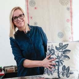Ein ganz persönliches Kissen… - Alexandra Lenz, Dipl. Textildesignerin in Köln
